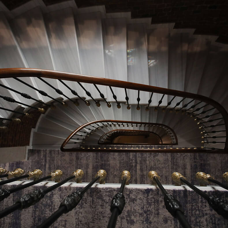 Hotel DeCamondo Stairs
